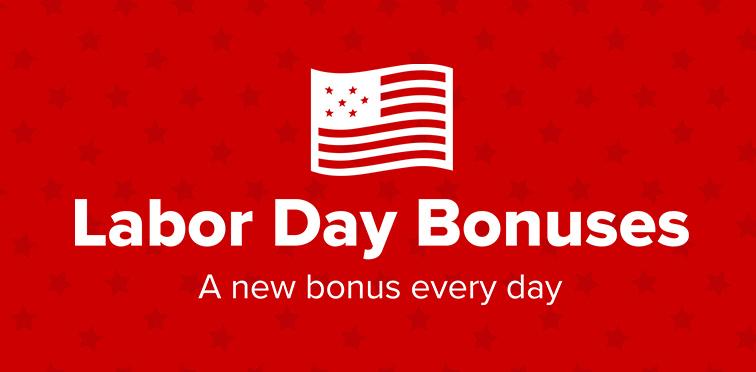 Virgin NJ Labor Day bonuses