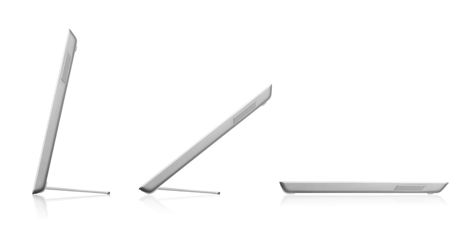 166dd9b1701bb Конструкція дає можливість змінювати кут нахилу в досить широкому діапазоні  — від 15 до 70 градусів. Модель у стильному алюмінієвому корпусі  сріблястого ...