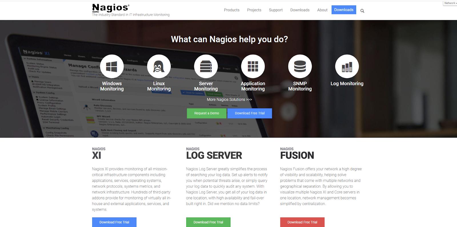 Nagios Network Monitoring Tool