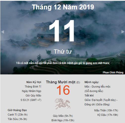 Dự đoán kết quả xsmb ngày 11/12/2019 theo phong thủy
