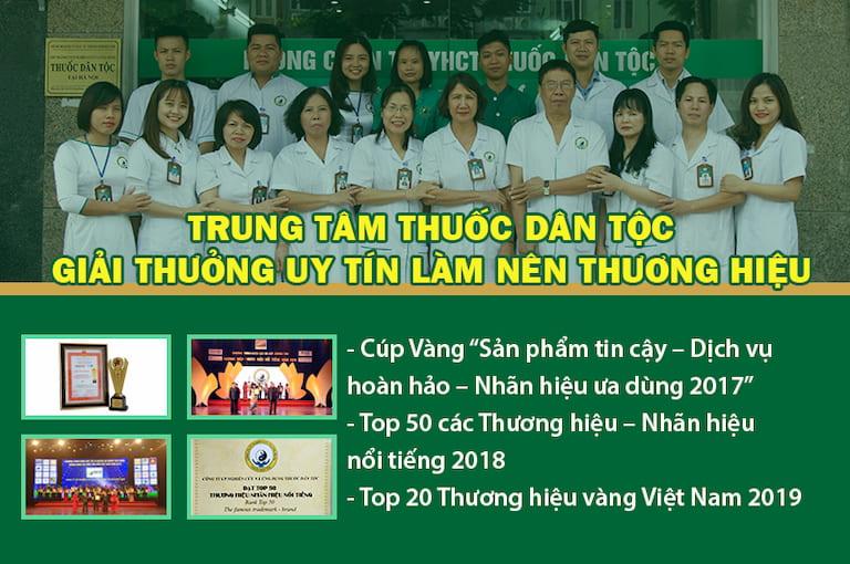 Một số giải thưởng danh giá của Thuốc dân tộc
