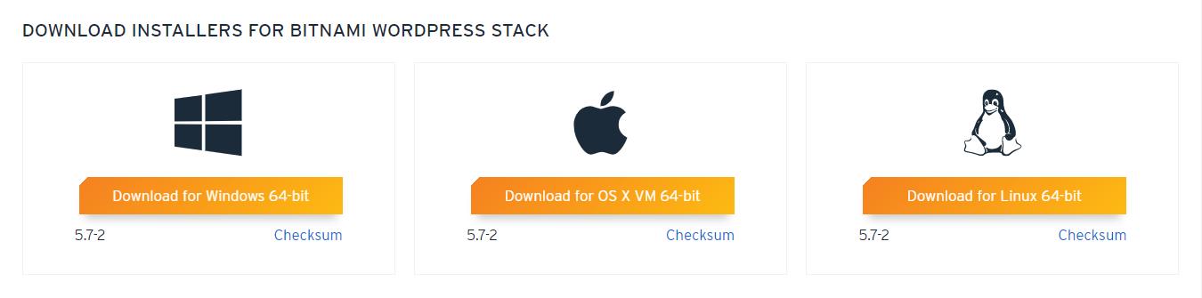 Install WordPress Local Machine