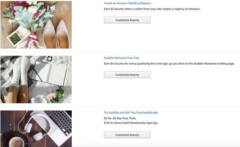 Amazon bounty