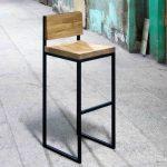 Самодельный барный стул