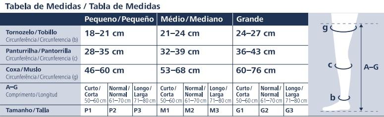 d528ffca3 Compre Meia 3 4 Sigvaris Select Comfort Premium 20-30mmHg com Menor ...