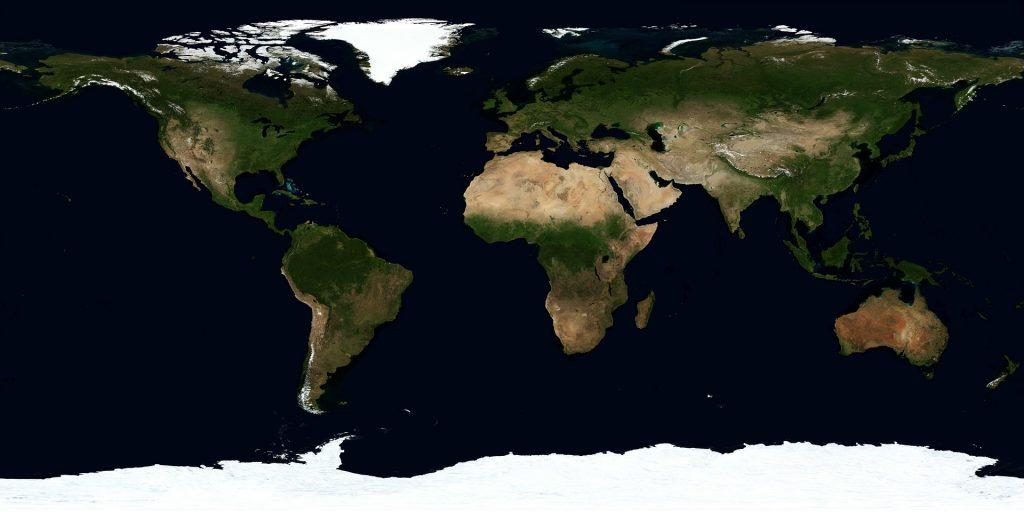 significato cambiamento climatico continenti
