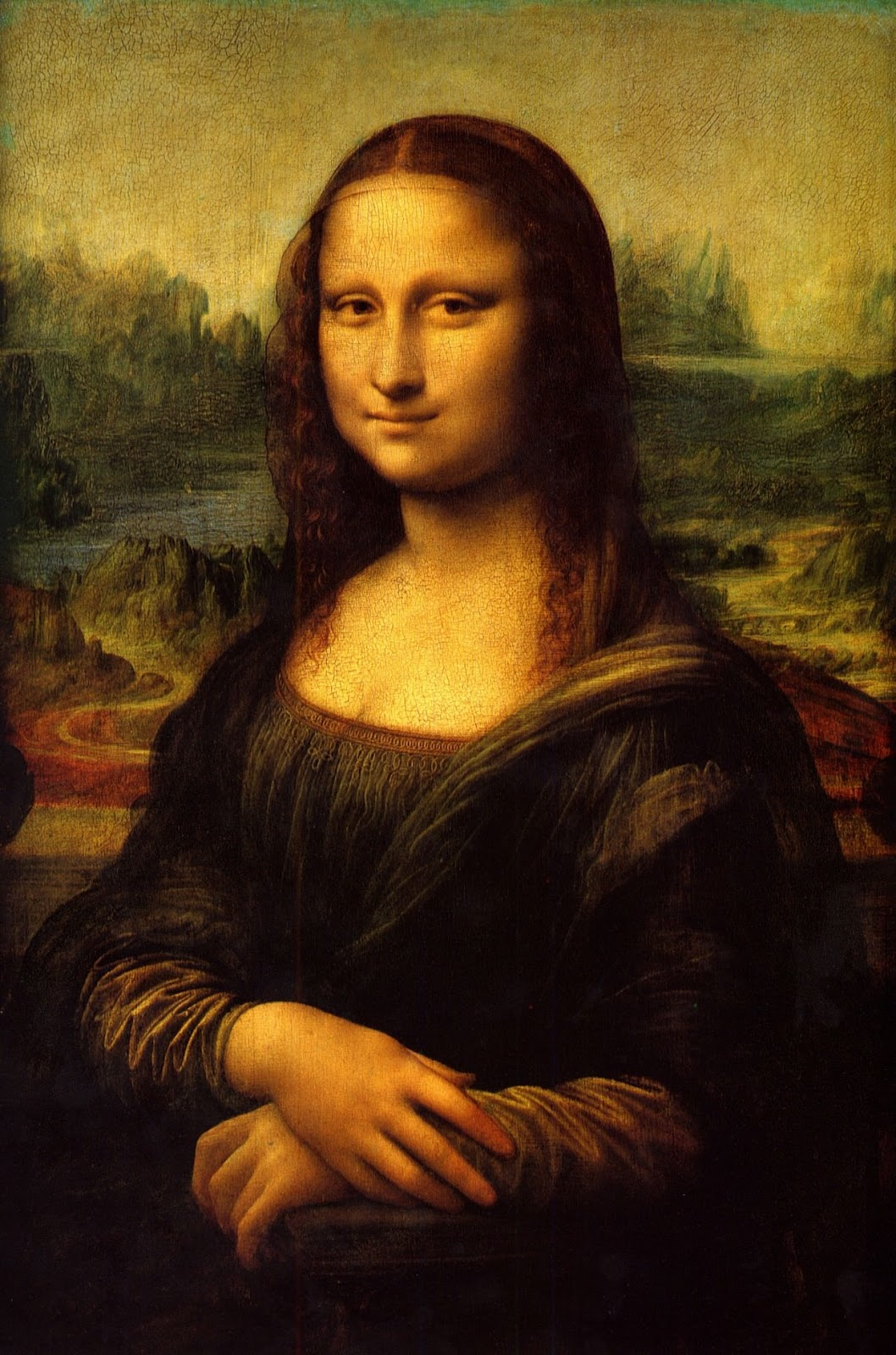 The Mona Lisa - by Leonardo Da Vinci