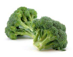 broccoli in the freezer: