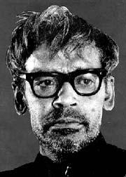 Image of Ritwik Ghatak, a Bengali film director