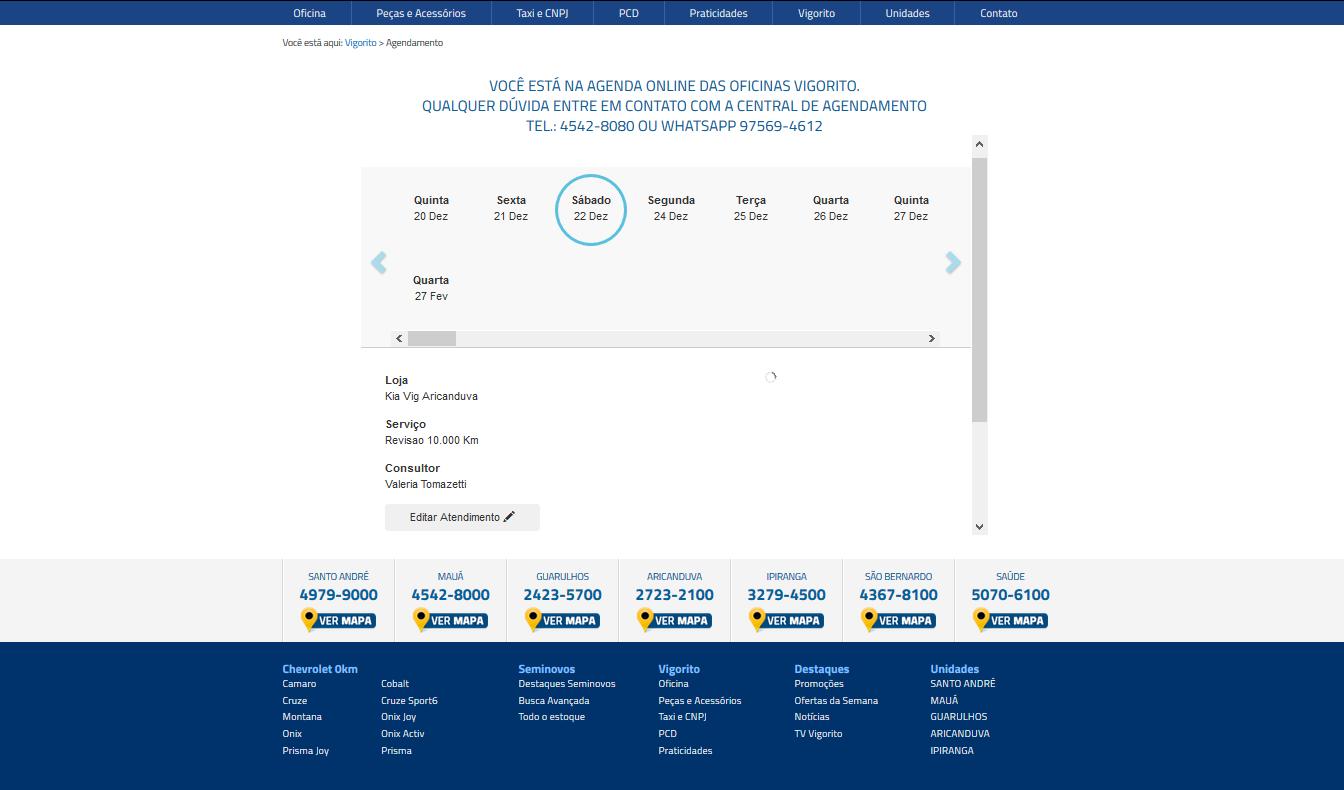 Veja como é a ferramenta de agendamento online do CRM Syonet