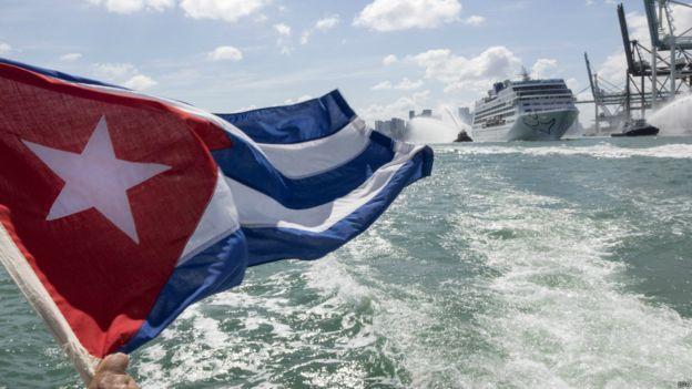 美國郵輪首次重啟古巴之旅