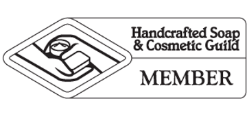 Handcrafted Soap & Cosmetic Guild Member Logo