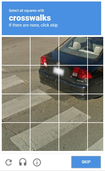 Picture Recognition CAPTCHA