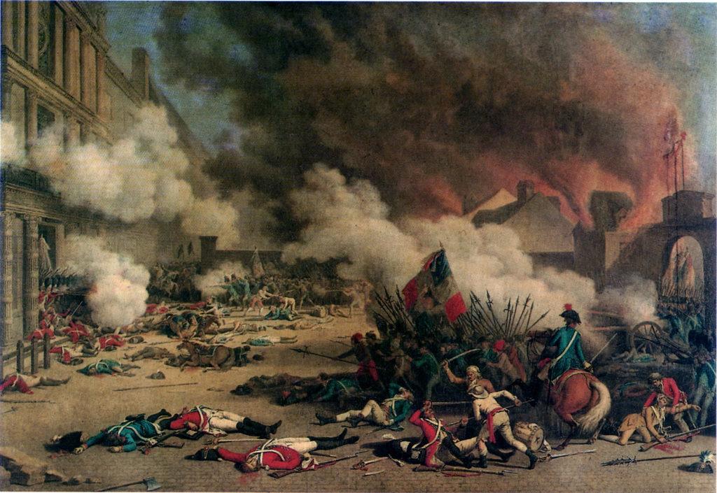Massacre of the Swiss Guard (1792), Jean Duplessi Bertaux Wikipedia