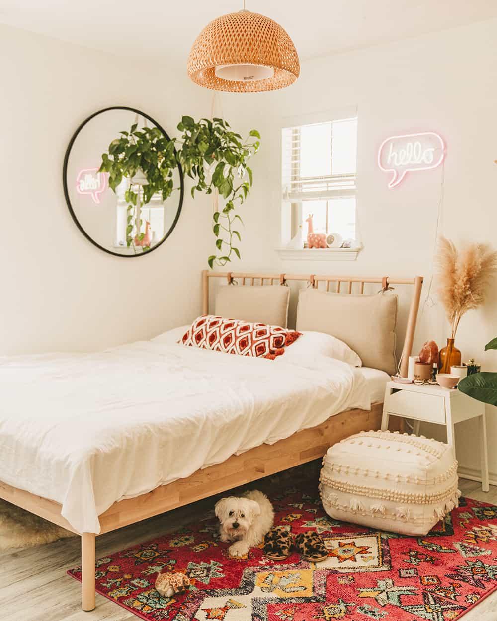 Textural Sand Beach Themed Bedroom