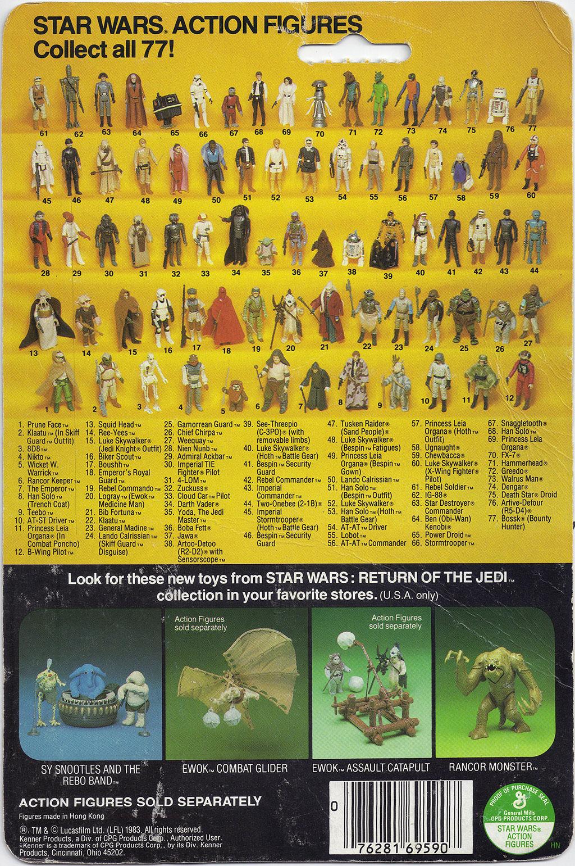 Image result for star wars 77 back