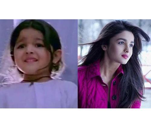 Alia Bhatt from 'Sangharsh'