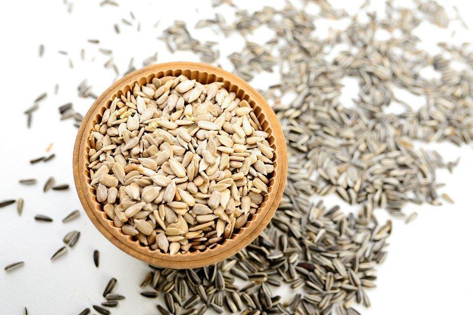 Sunflower Seeds, Seeds, Food, Snack, Edible, Organic