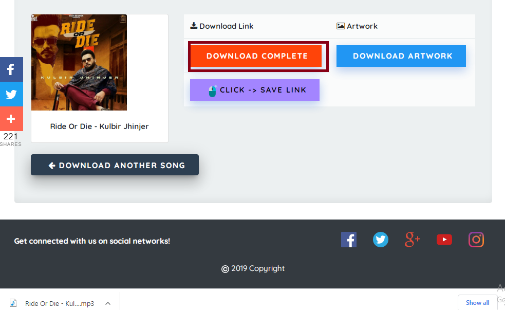 Use a free downloader to download SoundCloud songs