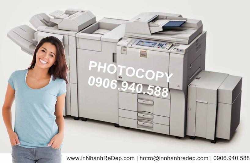 chuyên Photocopy số lượng lớn
