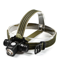 JETbeam HR25 1180LM SST40 N4 BC Outdoor Headlamp Head Light 18650 Battery USB Rechargeable Flashlight