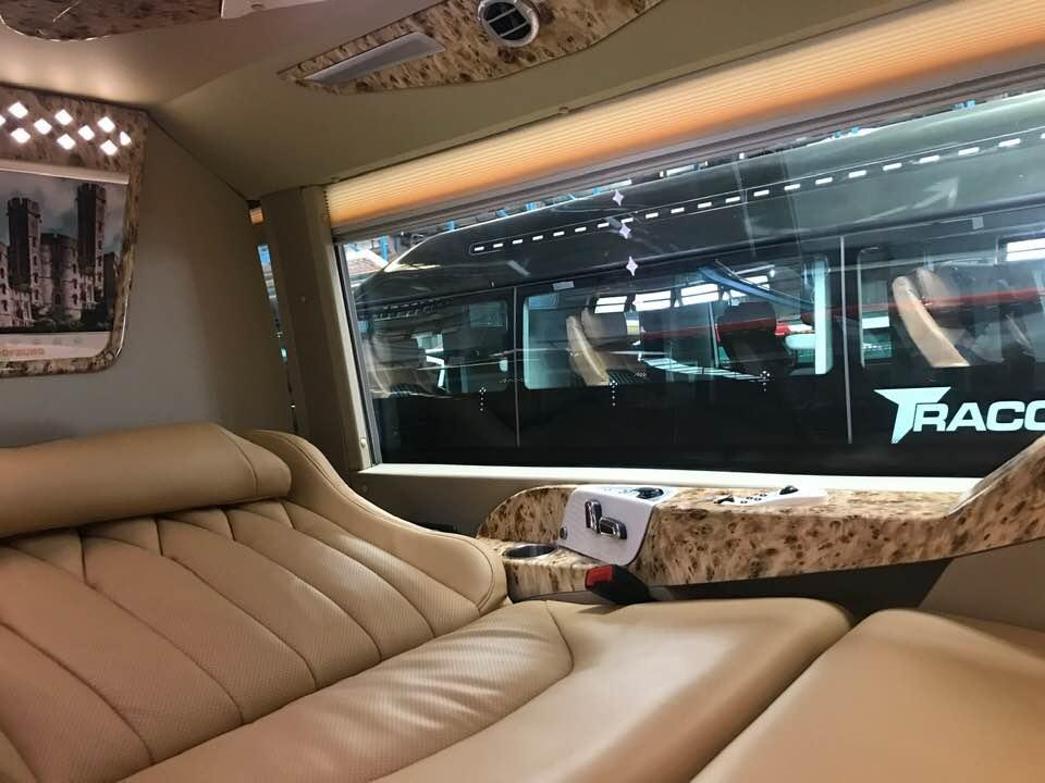 Xe giường nằm limousine đi Sapa Sao Việt