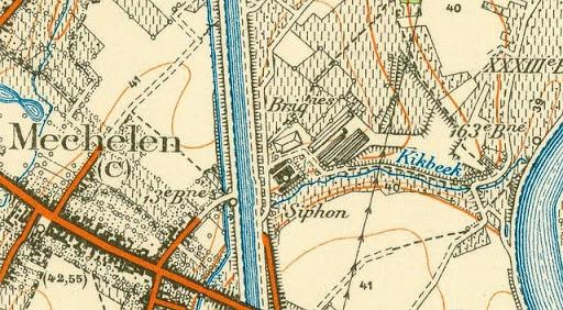 Steenbakkerij Eyben Maaswinkel - 1939