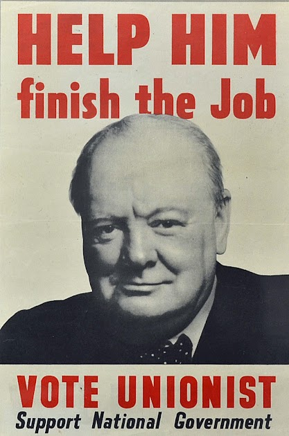The election campaign of this year witnessed the Conservative Party using Churchill and his war achievements as the central pillar of the campaign, while the Labour Party focused on implementing the Welfare State and the recommendations of the Beveridge Report. Labour won.