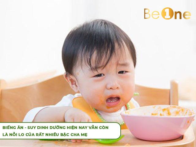 suy dinh dưỡng ở trẻ rất nguy hiểm