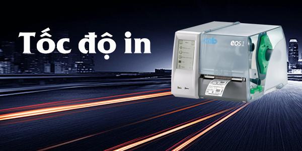 Khi chọn mua máy in mã vạch, bạn đừng quên lưu ý đến thông số độ  phân giải của thiết bị vì nó sẽ ảnh hưởng trực tiếp đến độ sắc nét của thông tin in trên tem nhãn.
