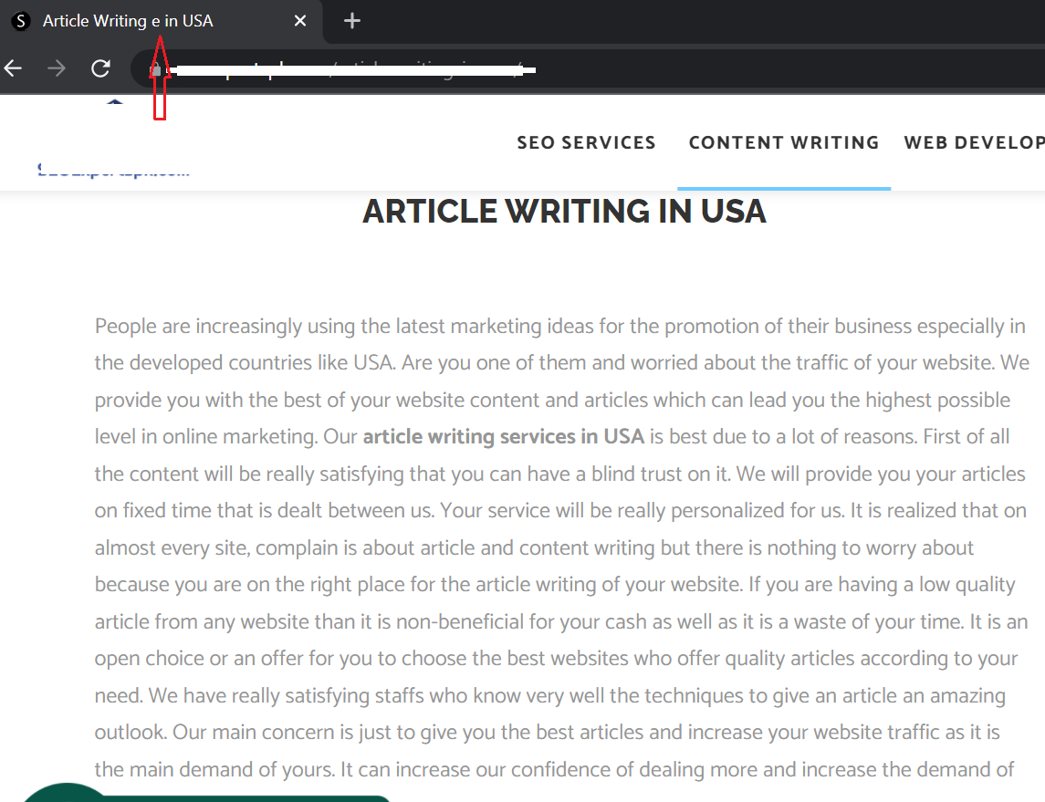 remove spam from website - write quality content