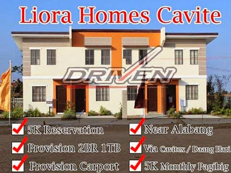 Rent to own House and Lot in Cavite Liora Homes
