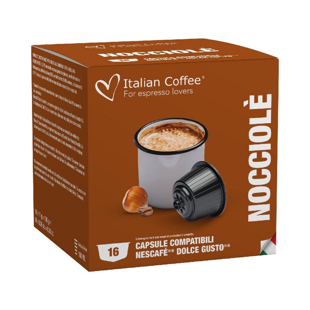Kávové kapsle oříškové latté Nescafé