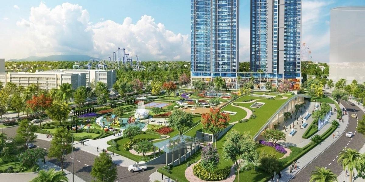 Dự án Eco Green Sài Gòn có mật độ cây xanh hơn 70%