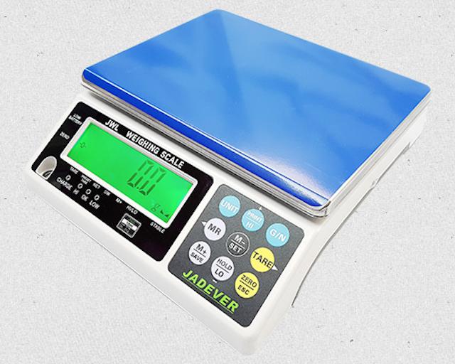 Cân điện tử 30kg có độ phân giải bên trong cao 1/20.000