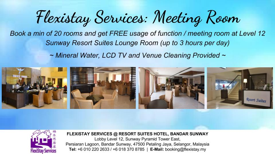 Flexistay Services - Meeting Room