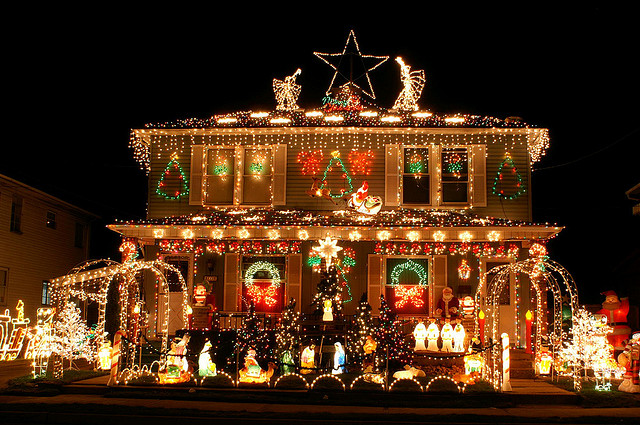 without electricity we would not have christmas lights like we do today before anyone had electricity their homes candles were used as festive lighting