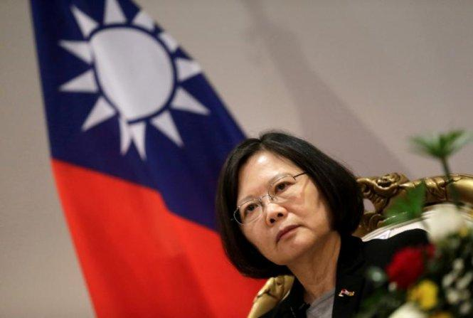 Trung Quốc yêu cầu Mỹ không cho bà Thái Anh Văn quá cảnh