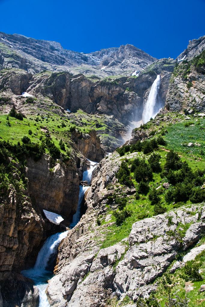 Espectacular fotografía de las Cascadas del Cinca ¿Para flipar, verdad?