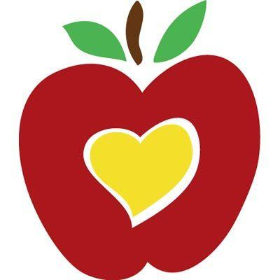 Image result for Apple Heart Clip Art