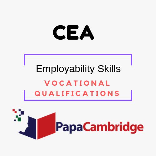 Employability Skills Awards at Level 1 and Level 2 Vocational Qualifications Syllabus