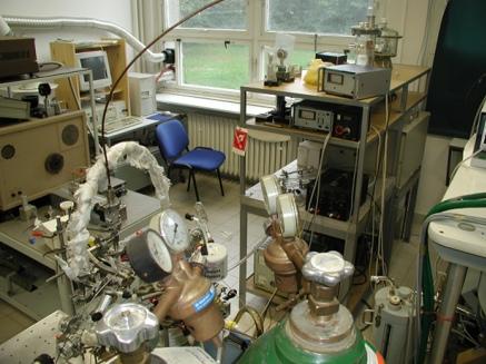 foto laserové laboratoře