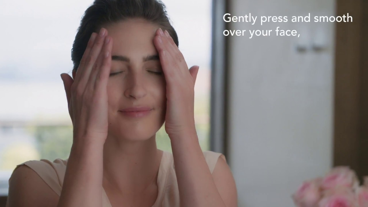 Apply a Facial Essence and Moisturizer