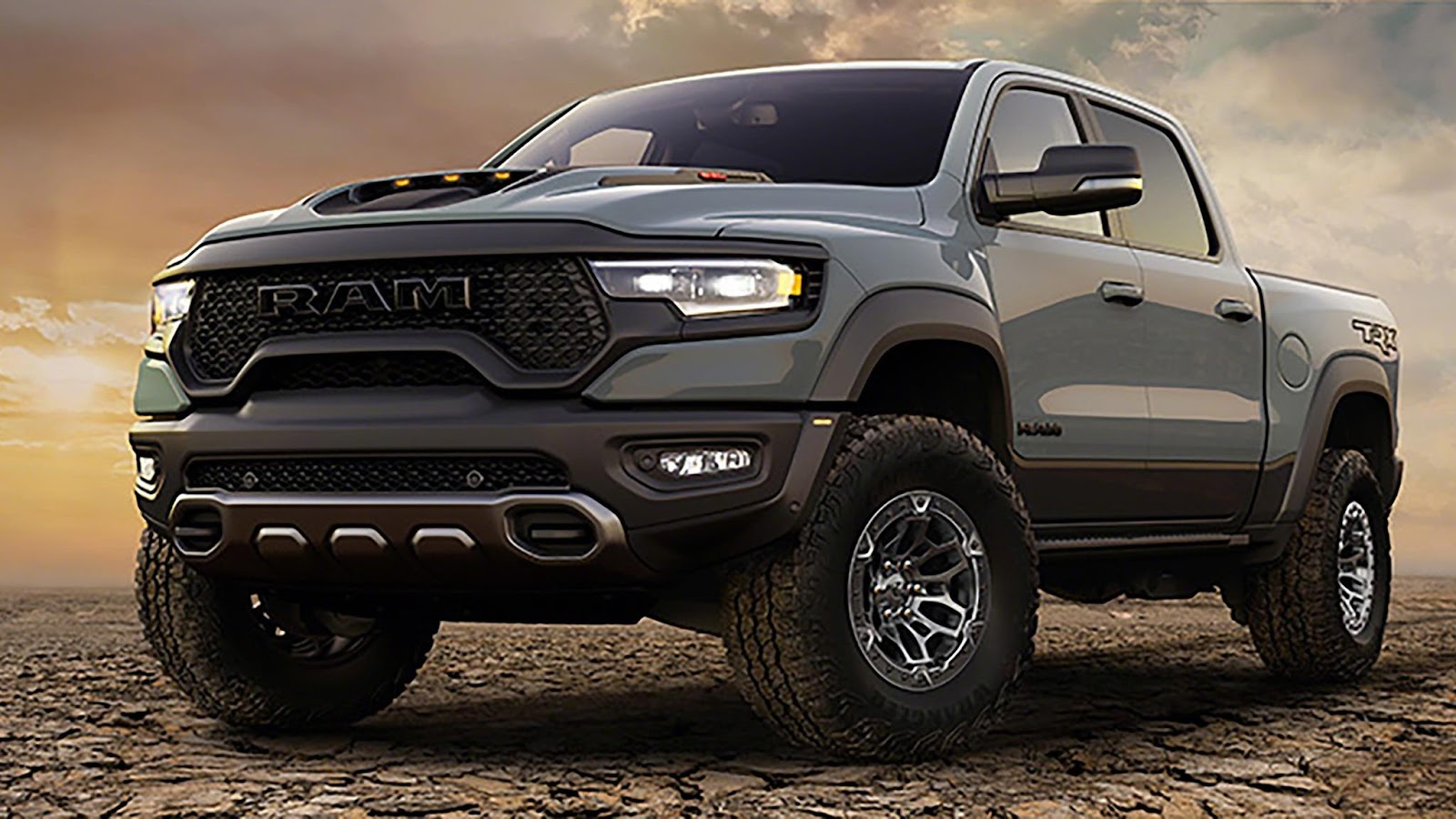 First Look: The 2021 Ram 1500 TRX Takes Aim at Ford's Raptor