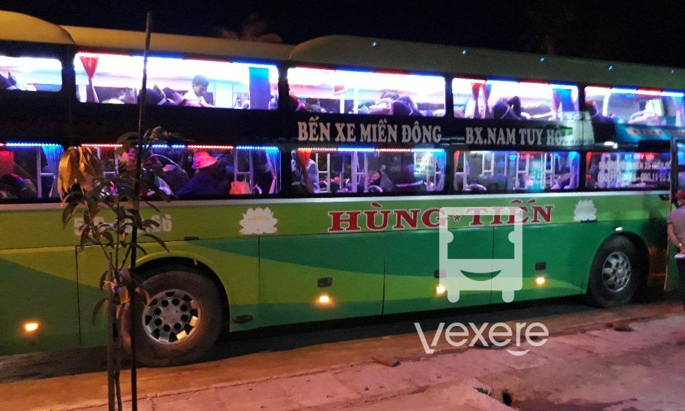 Xe giường nằm Hùng Tiến đi Phú Yên từ Sài Gòn