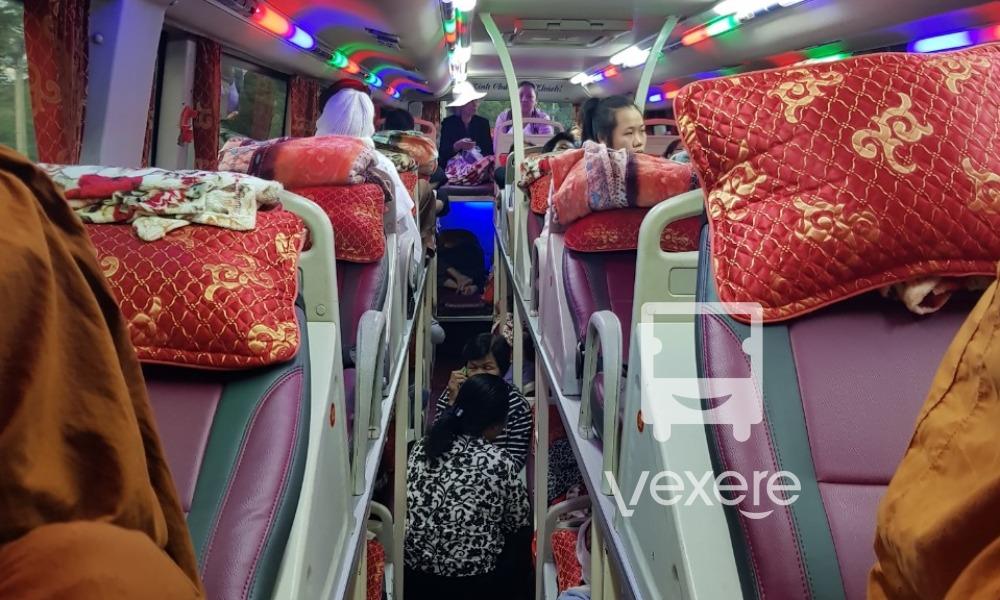 Nội thất xe Kế Nghi đi Sóc Trăng từ Biên Hòa