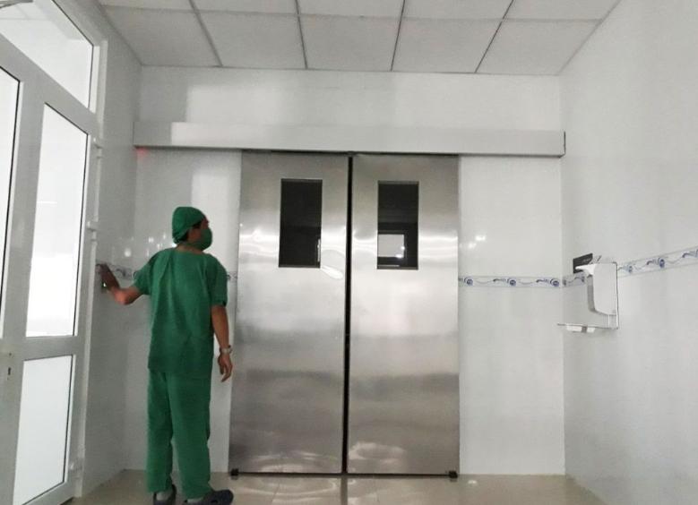 Cửa tự động bệnh viện có nhiều loại