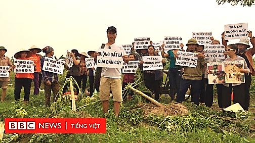 Sóng ngầm phẫn nộ của nông dân mất đất - BBC News Tiếng Việt