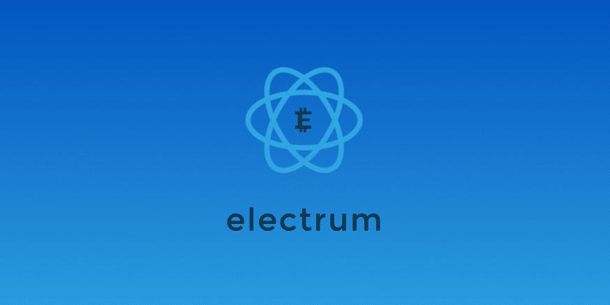 Electrum sebagai dompet digital aset kripto