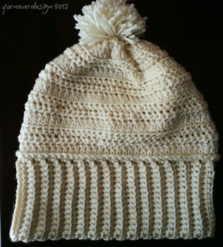 12 days of DIY crochet gifts to make: Day 11- another slouch hat